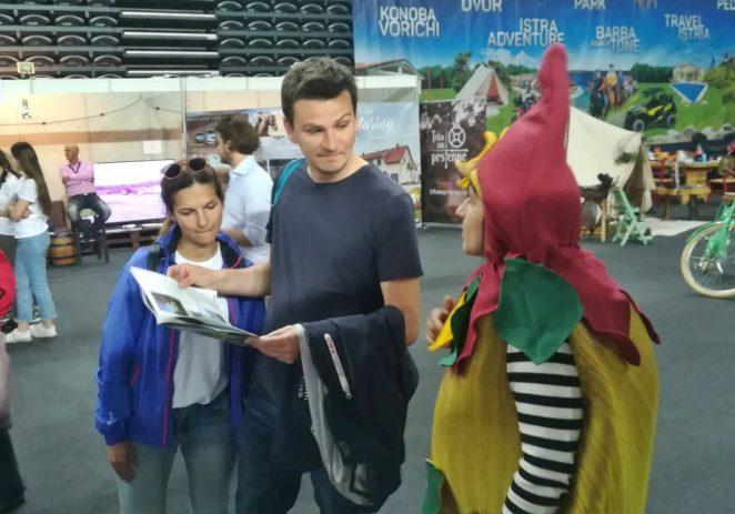 Istra Inspirit s Kontićima uveseljavao posjetitelje  Place 2 go – Međunarodnog sajma turizma u Zagrebu