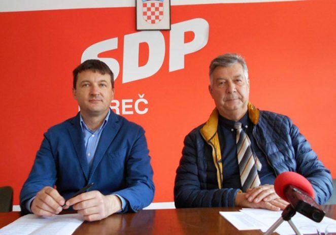 SDP Poreč: Riva iz tri dijela trebala je biti cijela