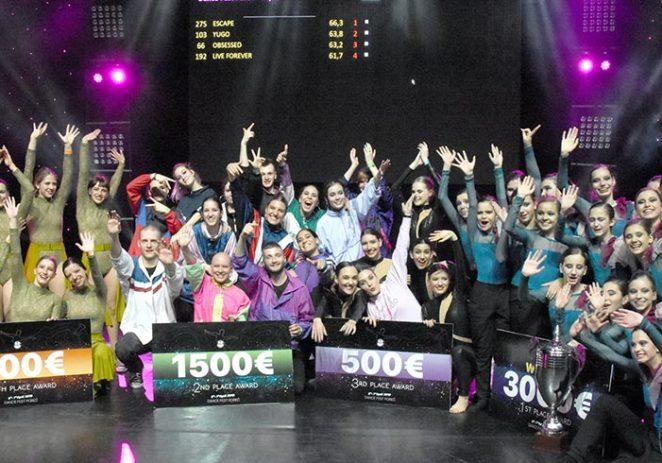 Plesačice Professional Dance Studia ESCAPE iz Novog Sada pobjednice prvog Dance Fest Poreč