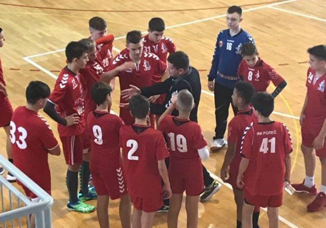 Mlađi kadeti RK Poreča odigrali dvije utakmice 12. kruga 1. HMKRL zapad i upisali dvije pobjede.