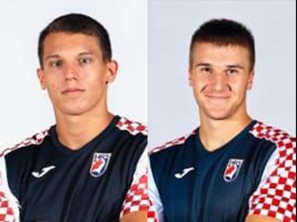 Ivan Filipović i Gianfranco Pribetić iz rukometnog kluba Poreč pozvani na okupljanje Hrvatske kadetske i juniorske reprezentacije