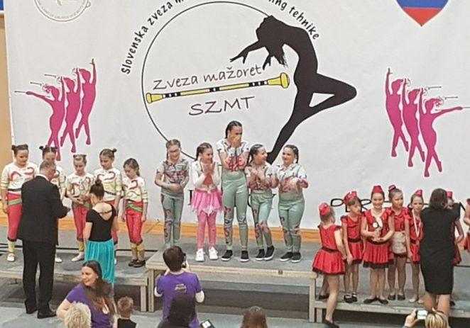Mažoretkinje ViVi Višnjan-Vižinada izvrsne na International Majorette Championship-u u Sloveniji