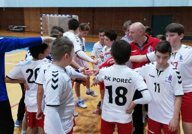 Dječaci rukometnog kluba Poreč doživjeli dva poraza u Rijeci