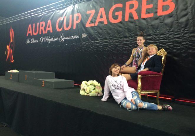 Izvrstan nastup ritmičarki KREG GALATEA (Funtana-Vrsar) na Aura Cupu u Zagrebu