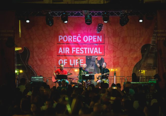 Novi programi i još više sadržaja na četvrtom Poreč Open Air Festivalu