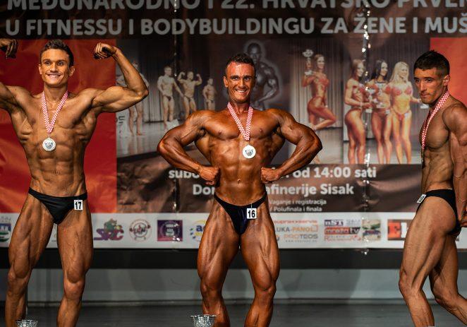 Hrvoje Petrinjak osvojio 6. mjesto na Europskom prvenstvu u body buildingu