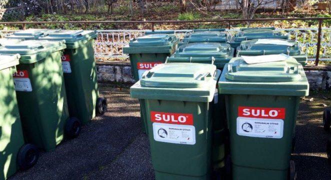 Podjela spremnika za miješani komunalni otpad u Vrsaru, Kašteliru, Vižinadi, Višnjanu i Sv. Lovreču