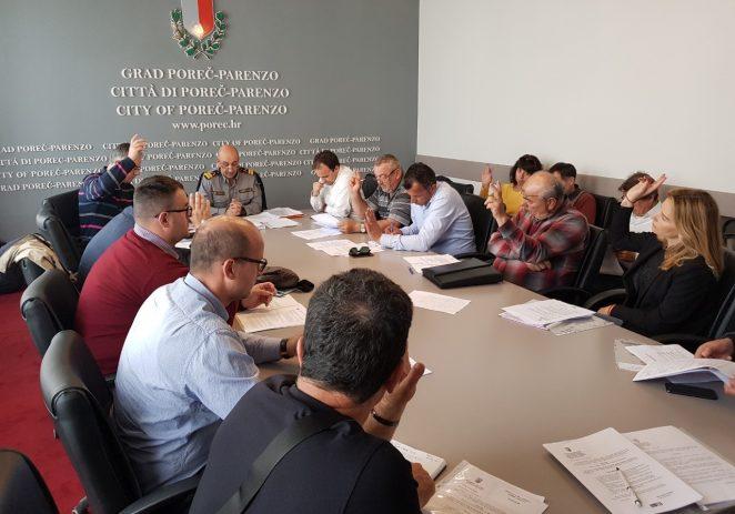 Održana proširena sjednica Stožera civilne zaštite Grada Poreča-Parenzo vezano za pripremu ljetne protupožarne sezone