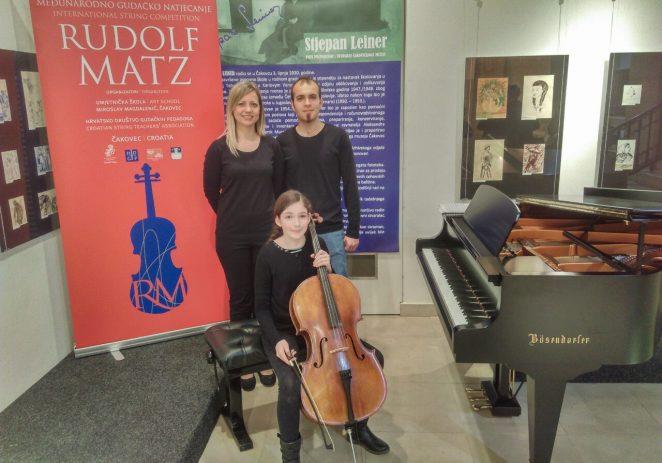 Hana Gubić, učenica Umjetničke škole Poreč osvojila 1. nagradu na Međunarodnom gudačkom natjecanju Rudolf Matz