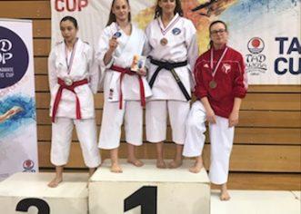 Dvije bronce za Flaviju Paliaga s međunarodnog karate turnira u Rijeci