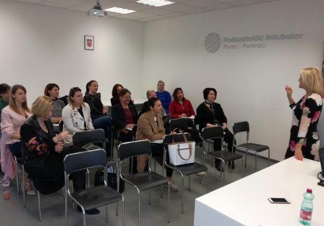 Započela besplatna Poduzetnička akademija za žene – održana prva edukacija