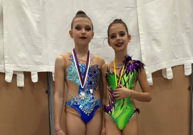 Porečke ritmičke gimnastičarke vratile se sa medaljom iz Brna