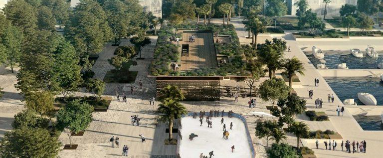 iz prijedloga UPU-a dijela gradske rive dio oko Viala