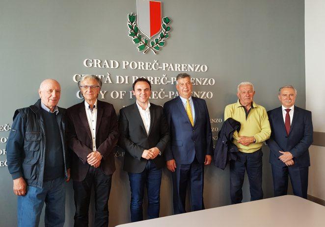 Ususret Danu Grada Poreča Peršurić ponovno okupio bivše porečke gradonačelnike