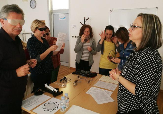 Turistički vodiči iz Poreča, Umaga i Novigrada učili kako voditi osobe oštećena vida