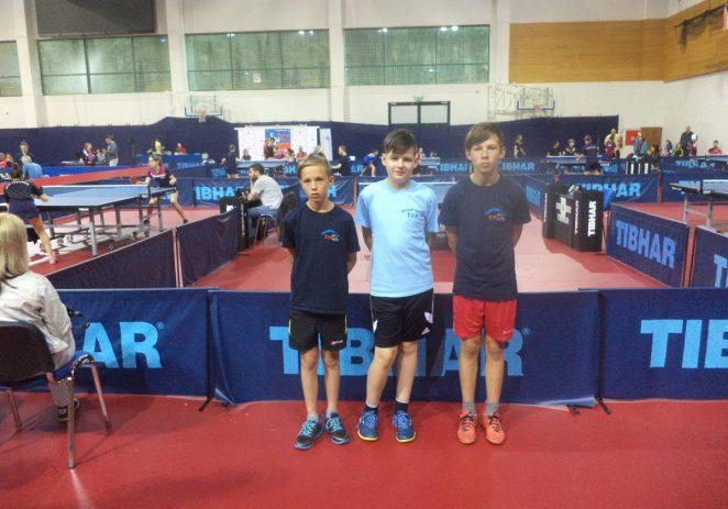 Tarski stolnotenisači stekli nova iskustva na turniru Milenij Open
