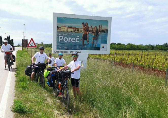 Vlado Buždon i prijatelji biciklima stigli iz Hannovera do Poreča