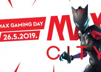 U nedjelju, 26. svibnja, Max City donosi događaj za sve ljubitelje video igrica Max Gaming Day