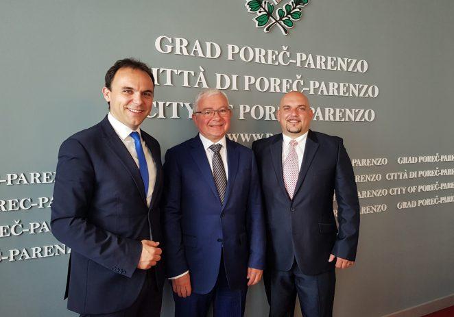 Češki veleposlanik posjetio Poreč