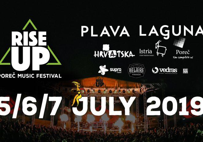 Tri dana zahuktale atmosfere na Poreč Rise Up – od 5. do 7. srpnja – Sean Paula, Hernan Cattaneo, Željko Joksimović…