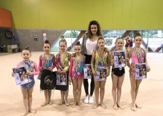 Najmlađe porečke ritmičarke vratile se s medaljama iz Italije !