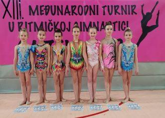 Pregršt medalja za porečke ritmičke gimnastičarke