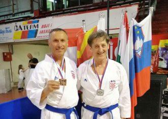 Dvije medalje za Karate klub Finida na Prvenstvu Balkana u Čačku za seniore i veterane