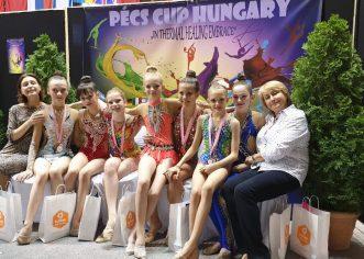 Gimnastičarke Funtane i Vrsara osvojile 7 odličja u Mađarskoj !