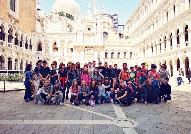 Učenici Talijanske osnovne škole B.Parentin posjetili Veneciju, Padovu i Akvileju
