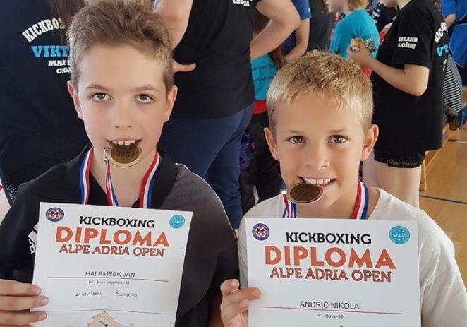 Članovi kick-boxing kluba Vrsar na Međunarodnom turniru 'Alpe Adria Open 2019.' osvojili medalje