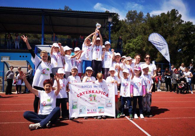Tristotinjak djece sudjelovalo danas na 18. Olimpijskom festivalu dječjih vrtića !