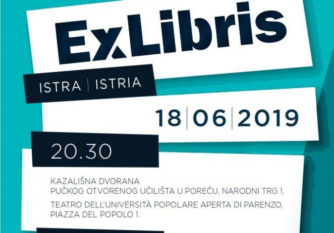 U utorak, 18. lipnja Koncert EX Libris Istria u Kazališnoj dvorani