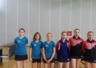 Juniorke stolnoteniskog kluba Vrsar osvojile 5. mjesto na Državnom prvenstvu !