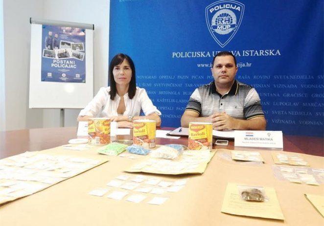 Zapljena droge na festivalu u Vabrigi: 44 osobe prijavljene zbog posjedovanja, troje zbog preprodaje
