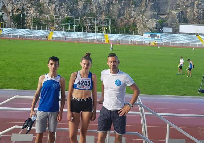 Andrea Bošnjak i Loris Uljanić iz AK Maximvs nastupili na Pojedinačnom prvenstvu Hrvatske za juniore i juniorke