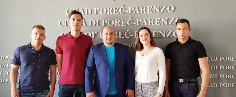Adriano Jakus i Renata Štifanić i predstavnici Savjeta