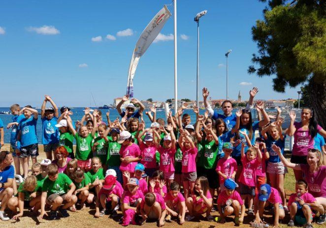 Veselo na Gradskom kupalištu: otvoren Ljetni kamp Grada Poreča-Parenzo