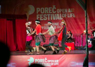 Cabaret show otvara četvrti Poreč Open Air Festival