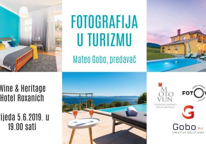 """U Motovunu ove srijede predavanje """"Fotografija u turizmu"""" – Mateo Gobo"""