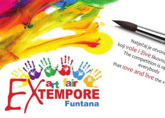 U Funtani se od 28.6. do 6.7. održava 9. Ex-Tempore likovni natječaj