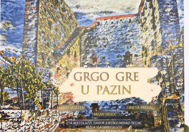 Projekcija filma 'Grgo gre u Pazin' na Funtaneli u Sv. Lovreču u četvrtak, 20. lipnja
