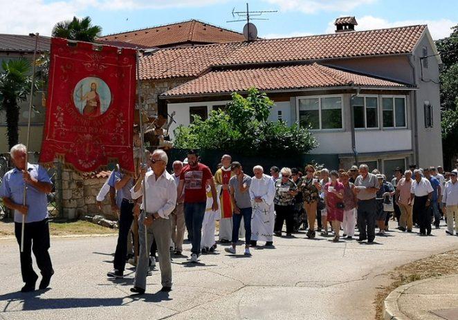 U Labincima svečano proslavljen Sveti Ivan, zaštitnik mjesta