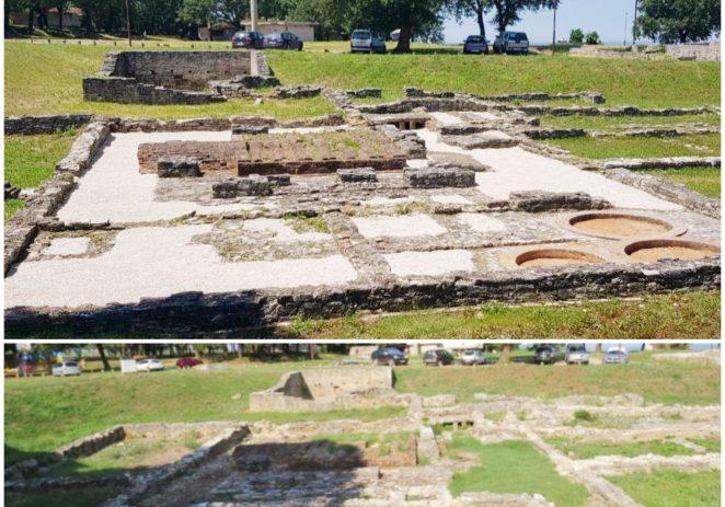 Uređenje arheoloških iskopina u Červar Portu