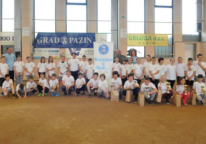 U Pazinu održano finale projekta Boćajmo u školi