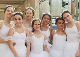 Porečke USB-ovke sudjelovale u baletnoj predstavi Giselle u Umagu