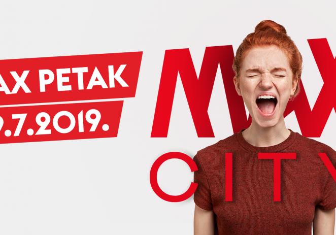 Najveći istarski shopping centar Max City 19. srpnja donosi još jedan Max petak