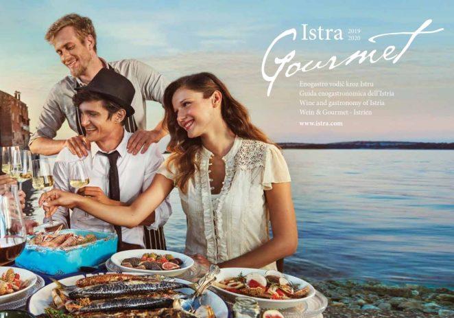 Novi gastronomski vodič Istra Gourmet 2019/2020