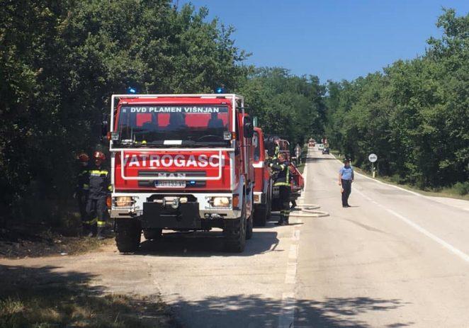 Šumski požar kod Kurjavići, izgorio je hektar šumske površine