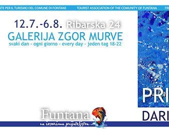 U petak, 12. srpnja, u Funtani otvorenje izložbe Darije Stipanić