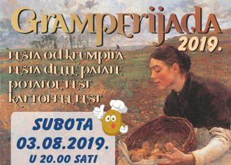 Fešta od krumpira – Gramperijada u subotu, 3. kolovoza slavi 17-i rođendan !